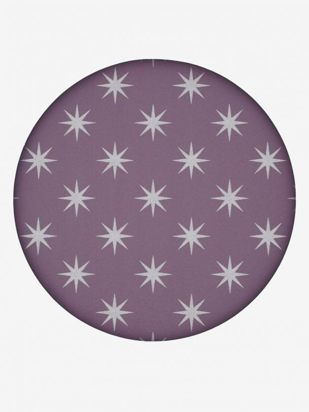 geschenkpapier-aubergine-mit-sternen-silber