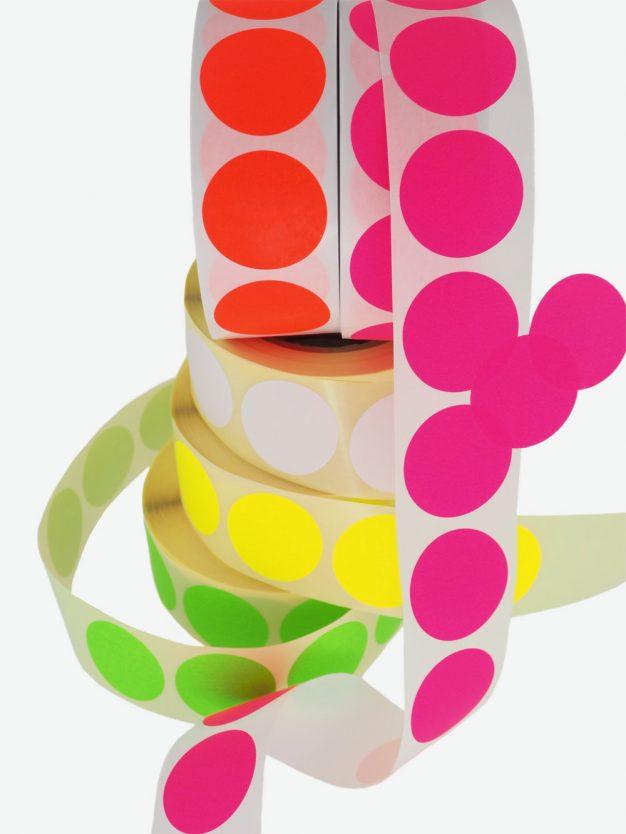 klebepunkte-einseitig-klebend-neon-auffällig-schoen